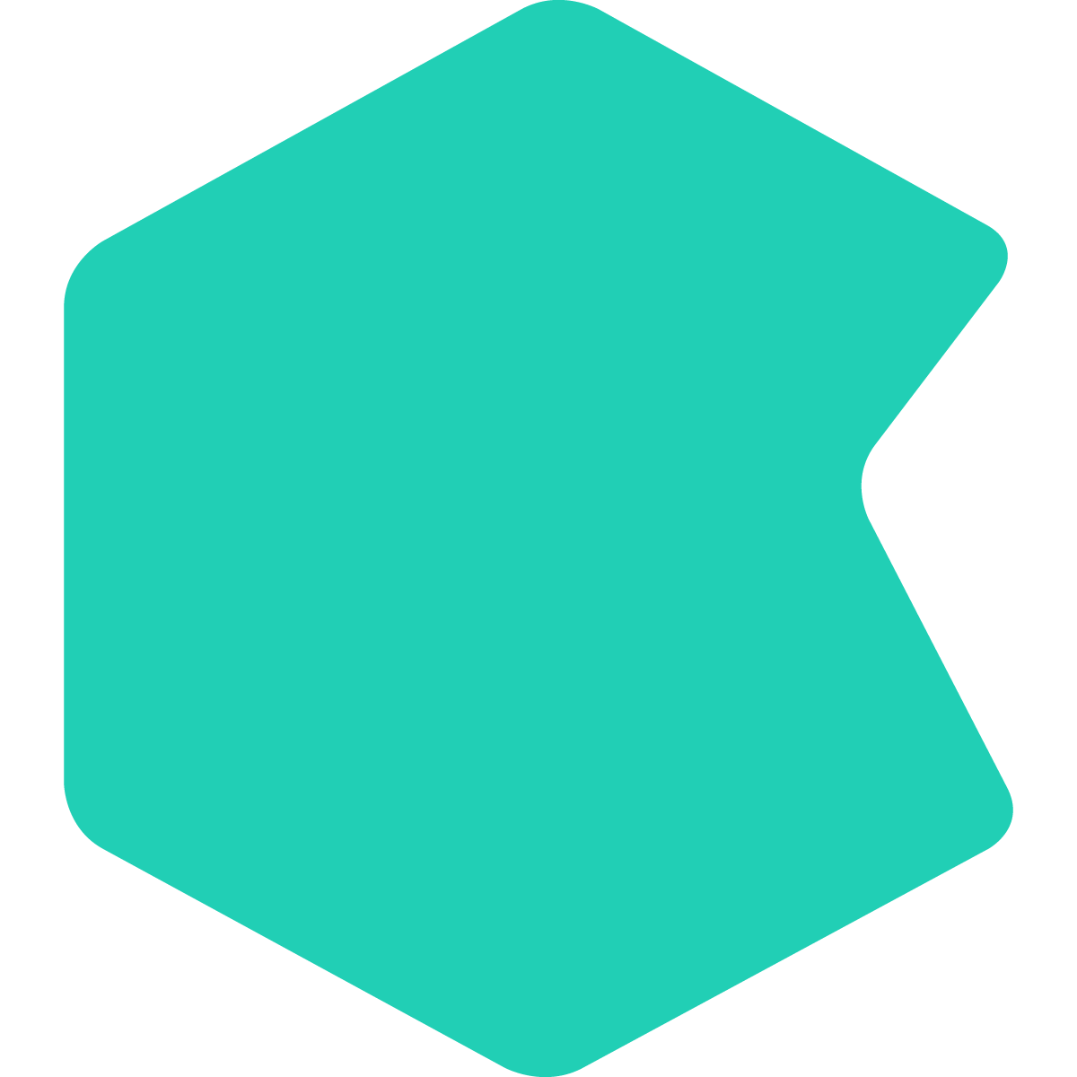 Hexagon overflow effect